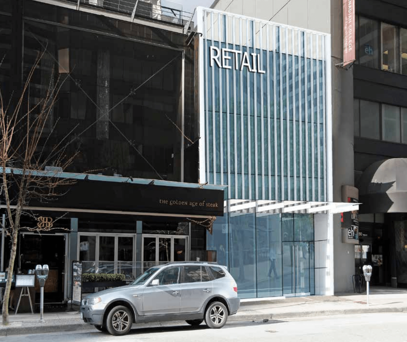 New high-end retail proposed on Alberni Street at current site of Kobe steakhouse