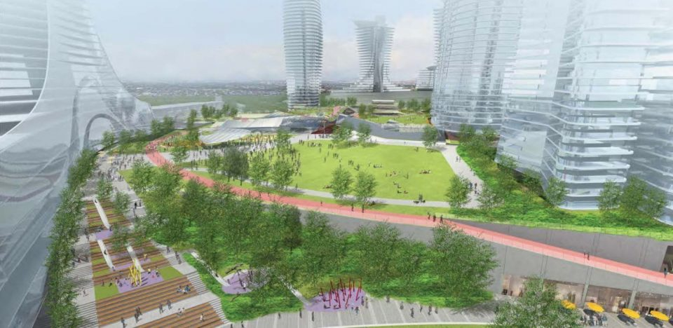 Upper Green concept