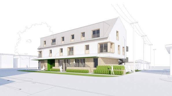 Rendering of Tomo House