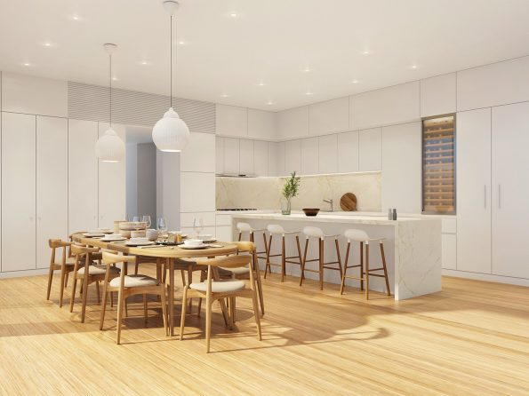 Terrace House PortLiving kitchen