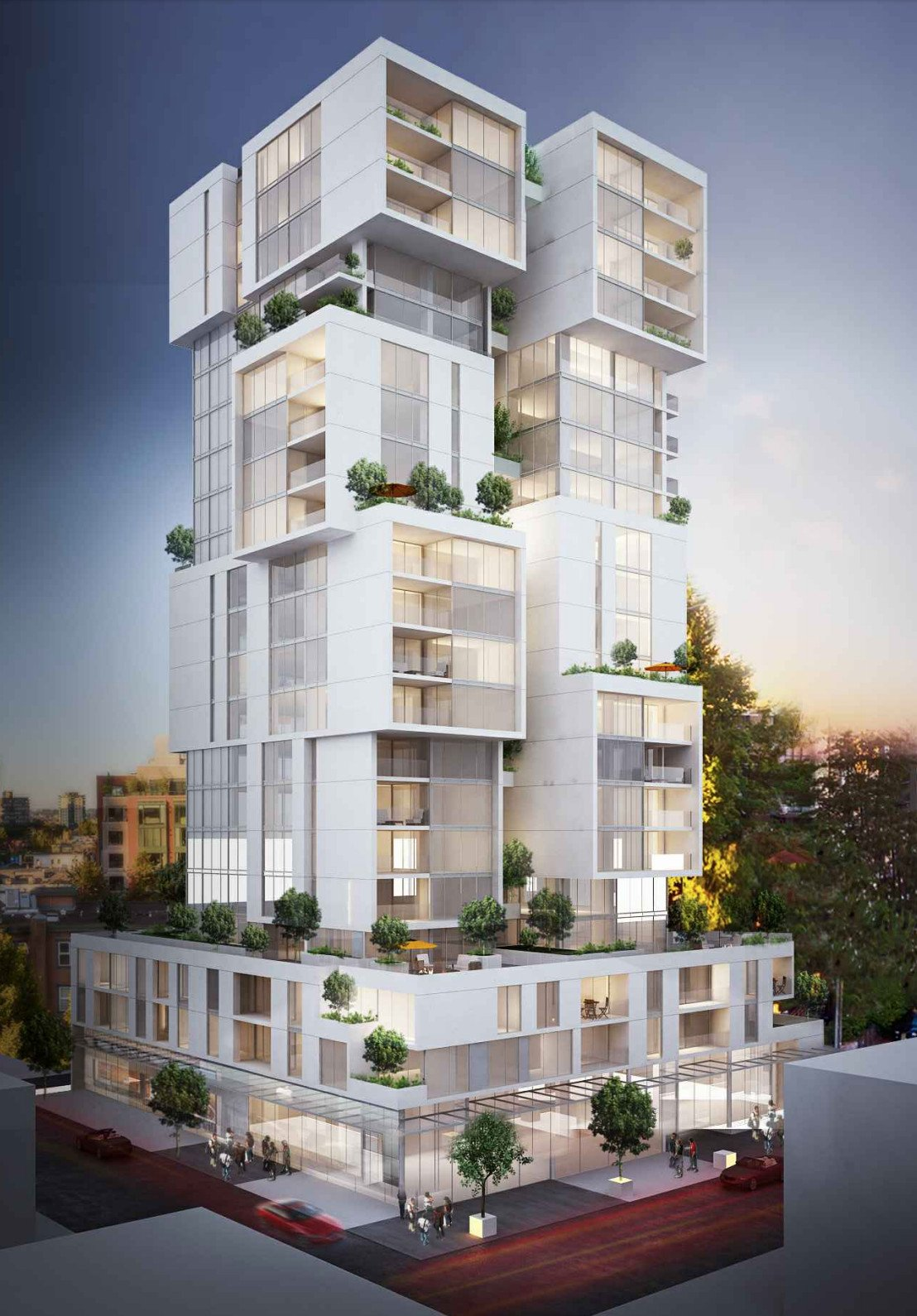 Landa Global to develop luxurious tower at 1810 Alberni Street