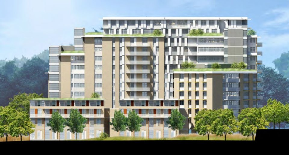 Arbutus Village Block D renderings