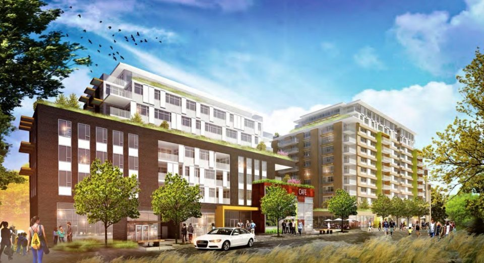 Additional density, taller buildings proposed for Arbutus Village redevelopment