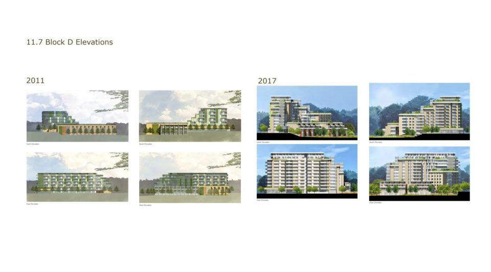 Arbutus Village renderings Block D
