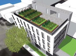 Head office Mount Pleasant rendering