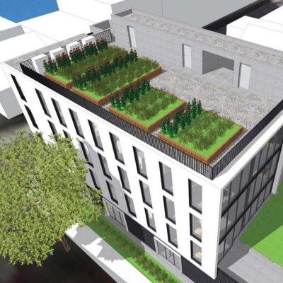 Head office Mount Pleasant rendering