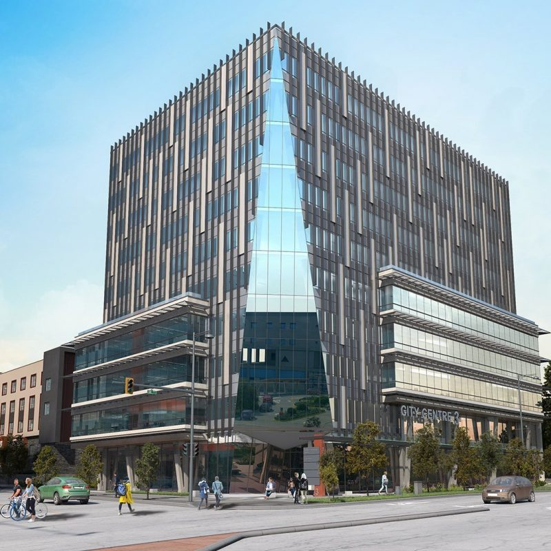 Health and Technology District Surrey rendering