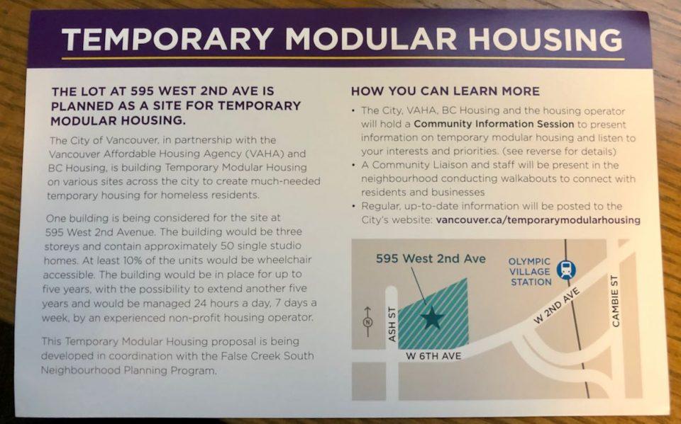Temporary Modular Housing for Homeless
