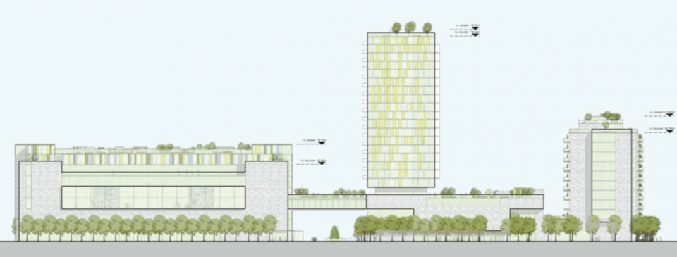 Apartment tower, new community centre and care facility planned for Vancouver JCC