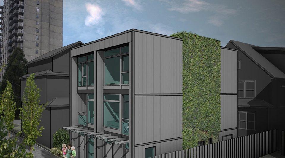 Nelson Street laneway rental apartments