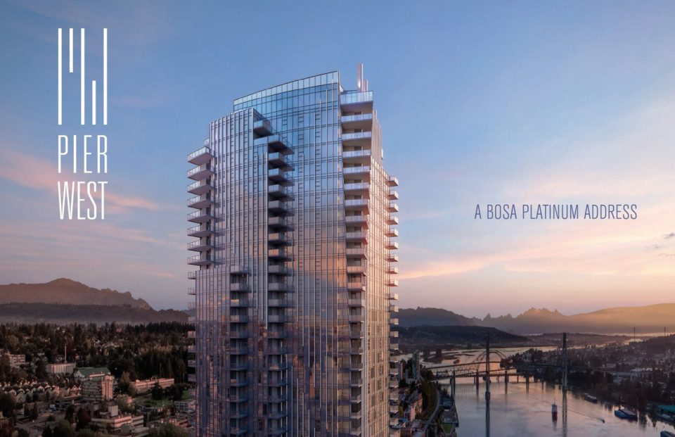 Pier West Bosa New Westminster tower