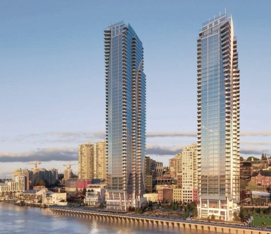 Pier West Bosa New Westminster towers