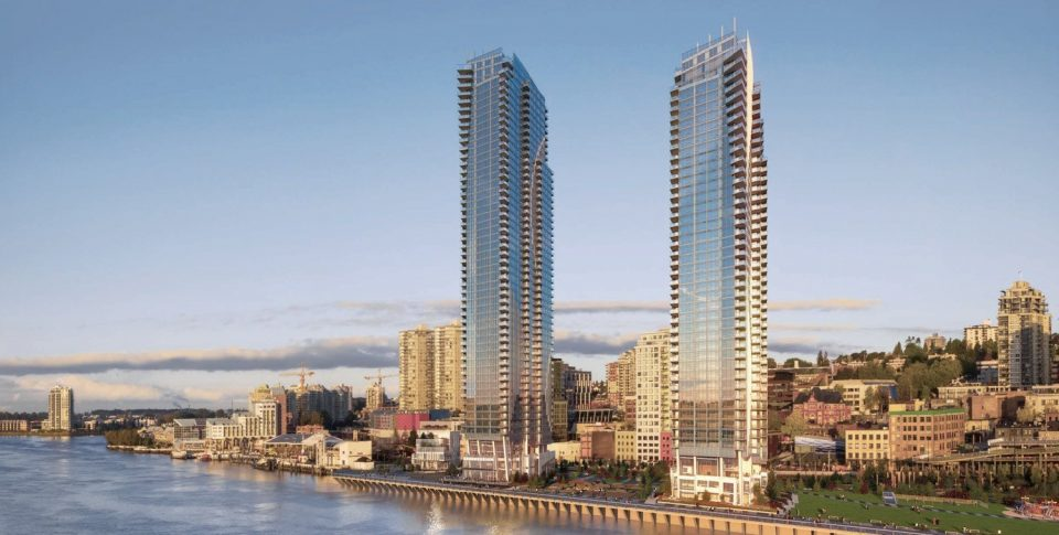 Pier West brings tallest towers yet to New Westminster's skyline