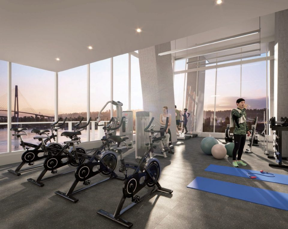 Pier West Bosa New Westminster fitness centre
