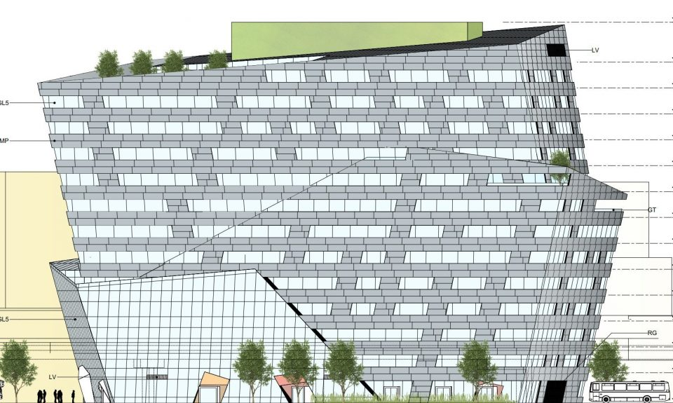 Rize Alliance plans 13-storey office building next to train station