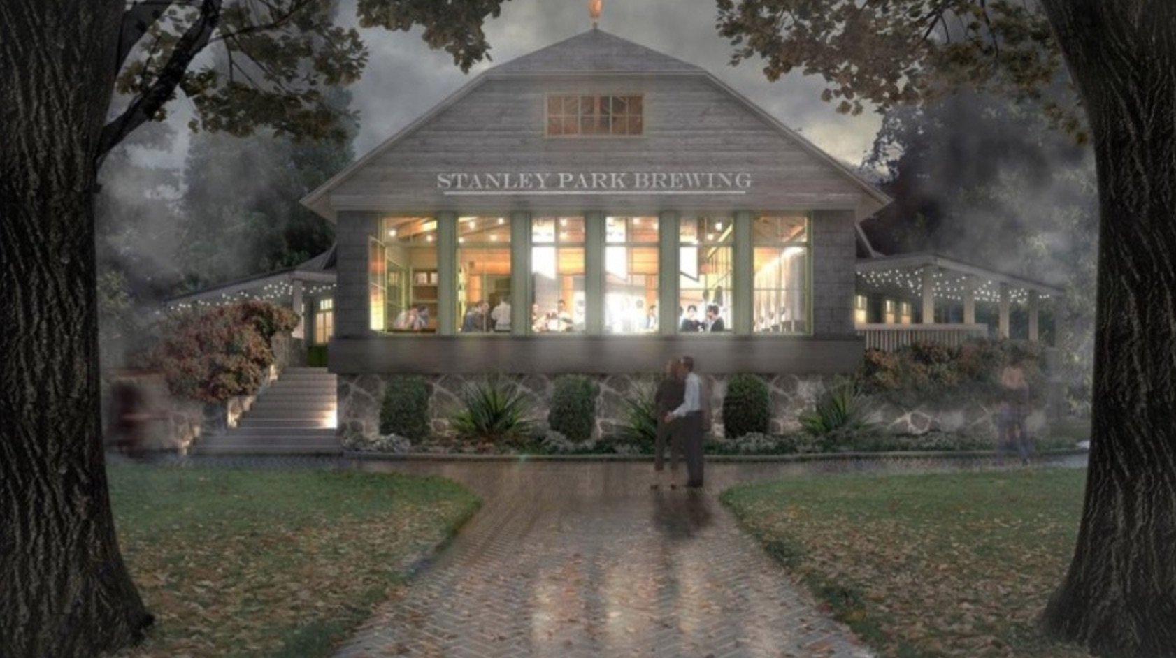 Stanley Park Brewing rendering