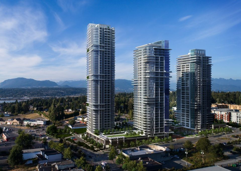 Tien Sher Whalley development rendering overall development
