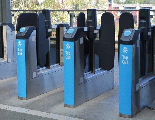 Translink fare gates accessible