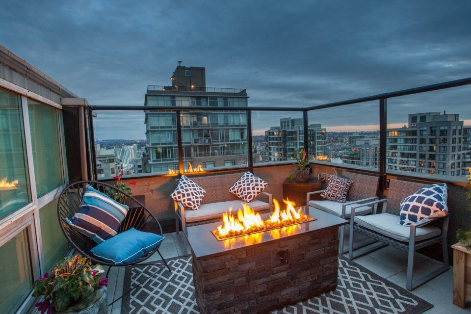 Yaletown penthouse rooftop