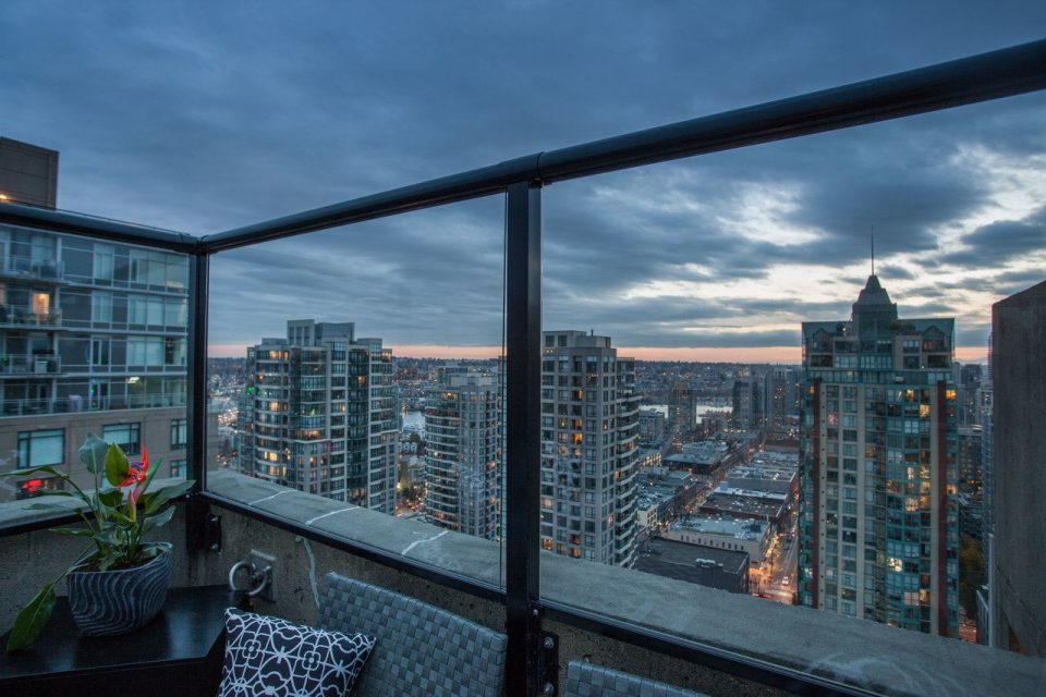 Yaletown penthouse view