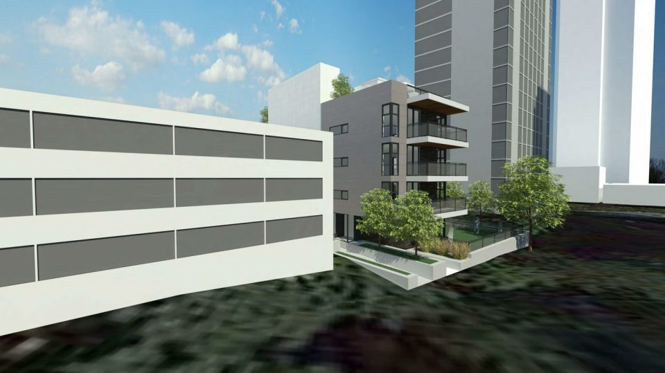 1021 Burnaby rendering context