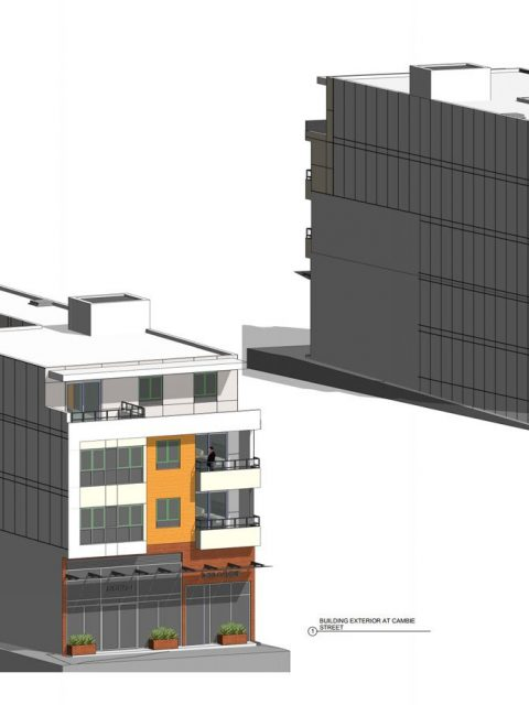 Dentist office, apartments to replace Pronto restaurant on Cambie Street