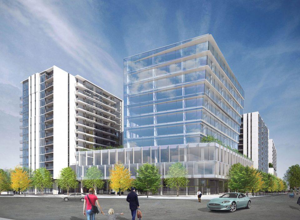 Atmosphere Richmond rendering office