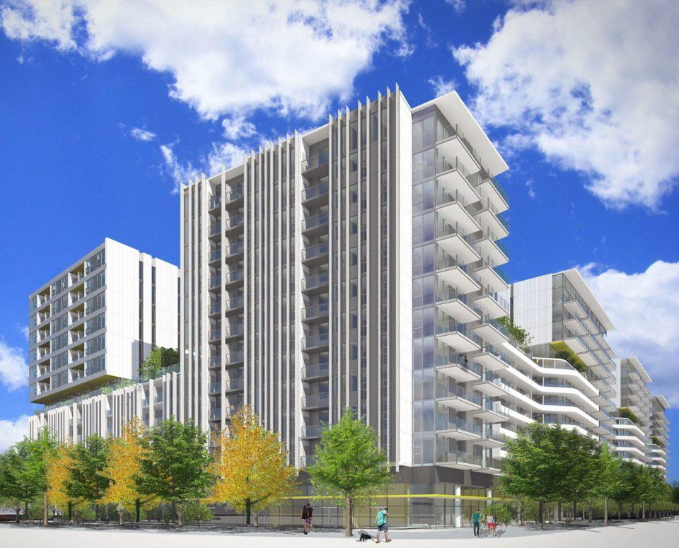 Atmosphere Richmond rendering tower
