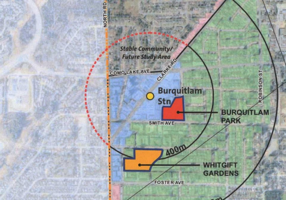 Burquitlam development map