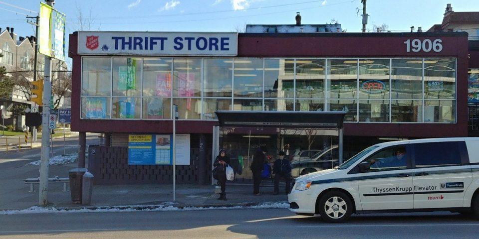 Kitsilano Salvation Army Thrift store