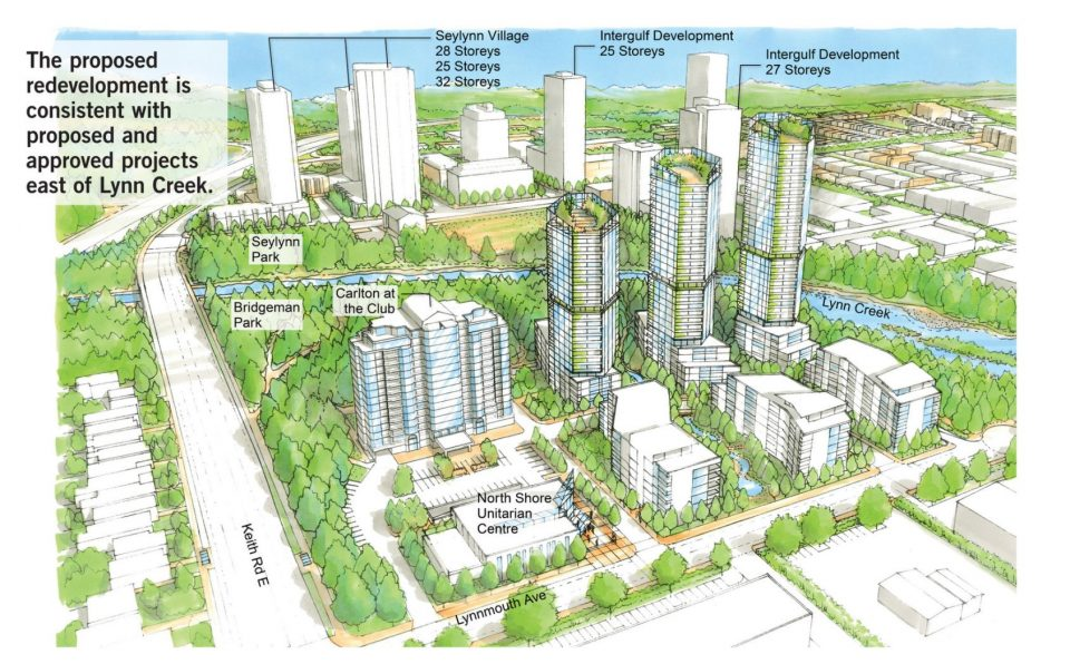 Redevelopment of North Shore Winter Club includes towers up to 32 storeys