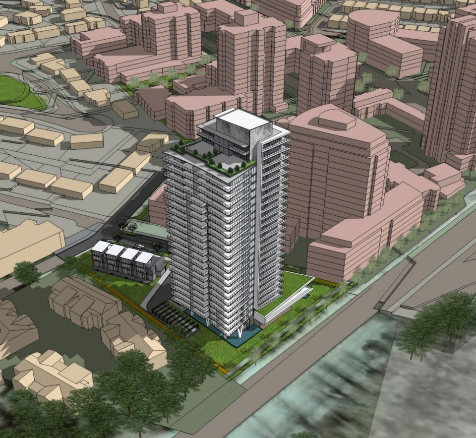 Lions Gate Village development