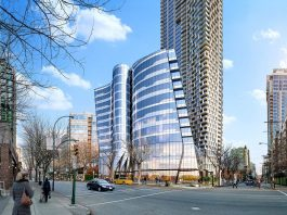 The Offices at Burrard Place exterior