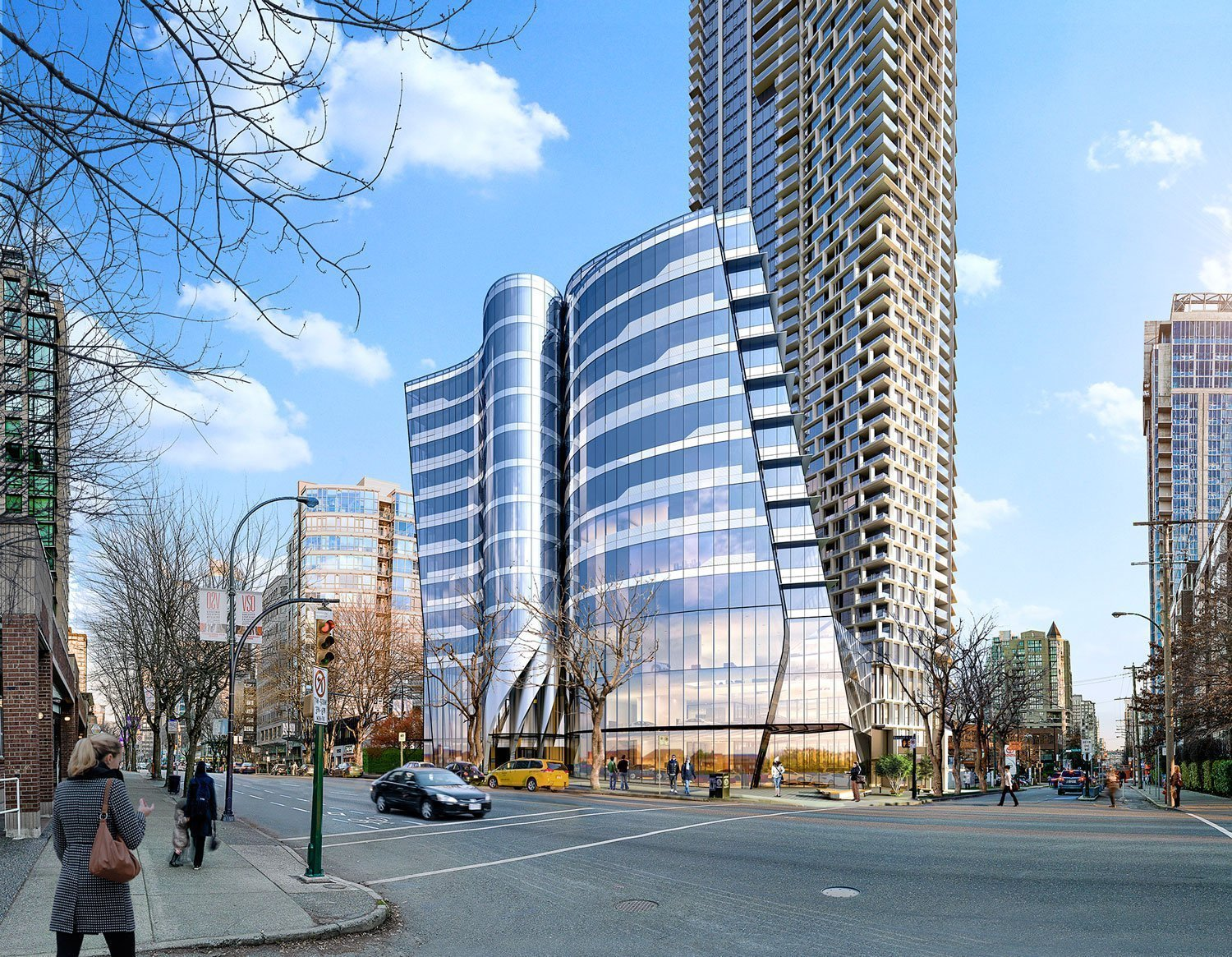 13-storey office building at Burrard Place breaks ground