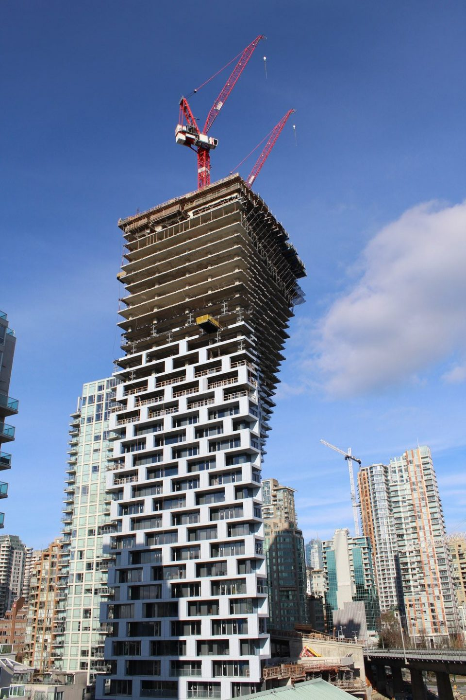 Vertical Ascent Of Vancouver House By Bjarke Ingels
