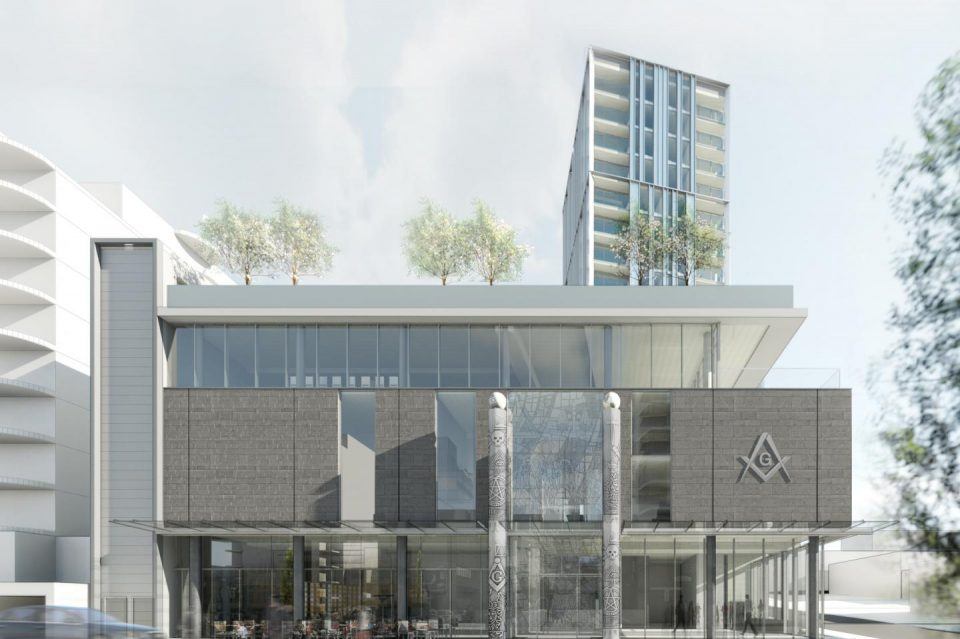 New Vancouver Masonic Centre will include 18-storey apartment tower