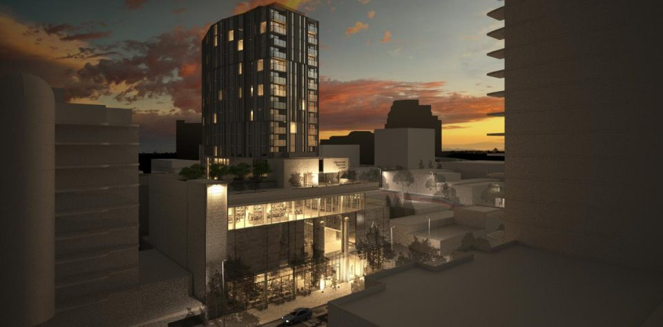 Vancouver Masonic Centre redevelopment night