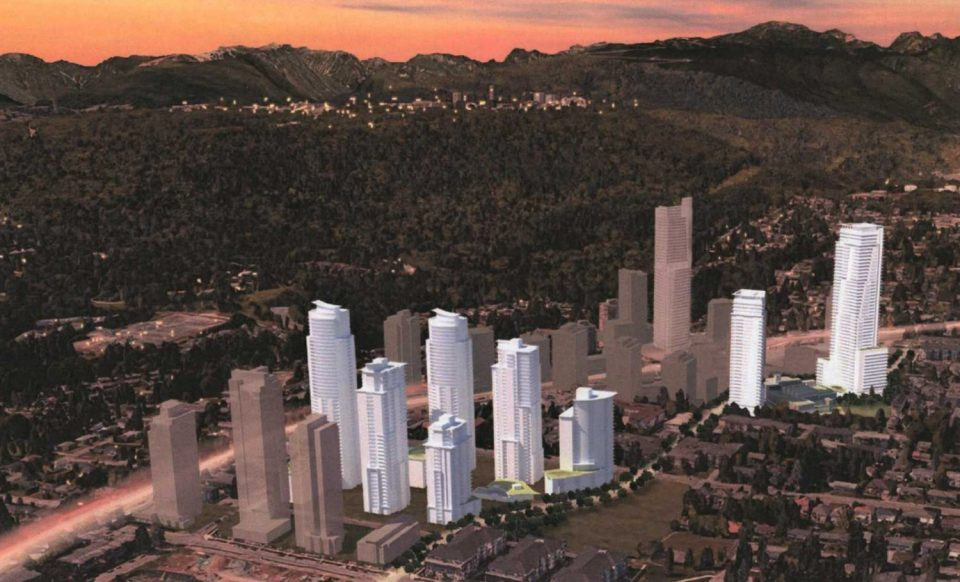 Eight towers with 2,700 homes, new YMCA coming to Burquitlam