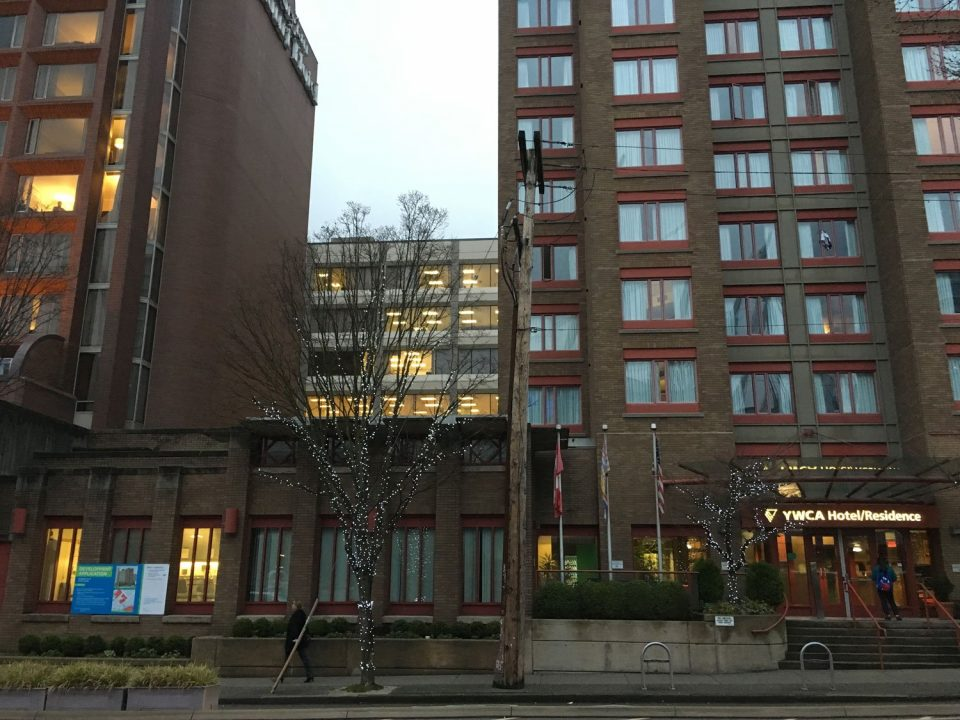 YWCA Hotel downtown Vancouver addition