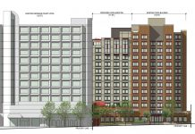 YWCA Hotel downtown Vancouver addition drawing