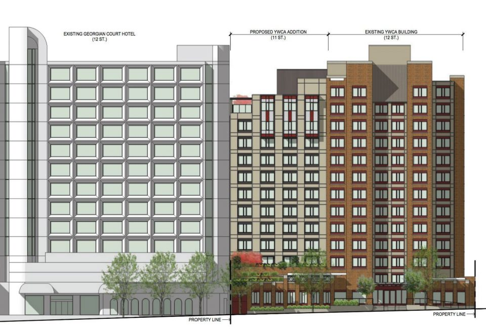 YWCA Hotel in downtown Vancouver plans 11-storey addition