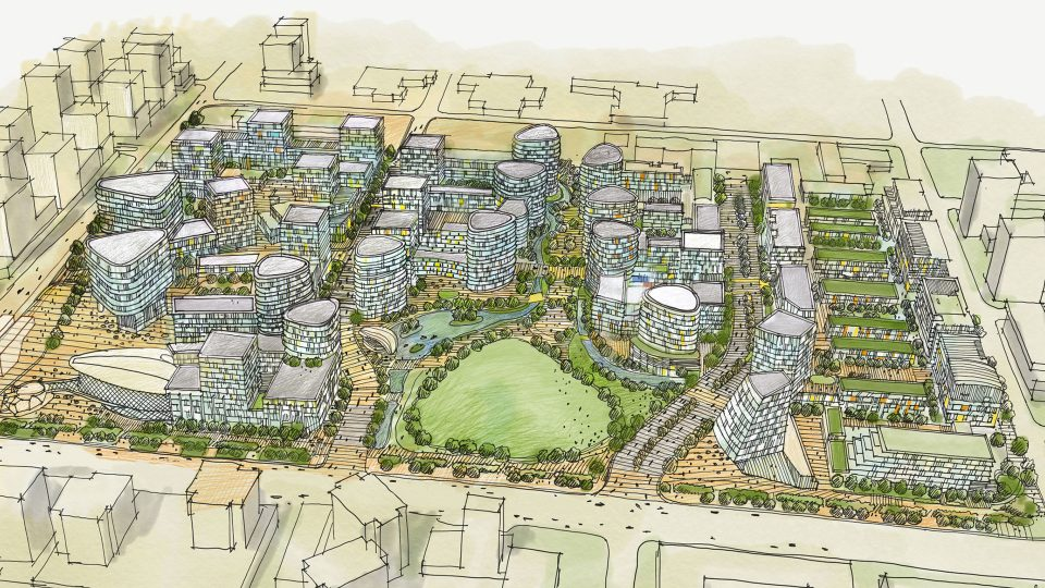 24 new towers proposed for Lansdowne Mall site in Richmond
