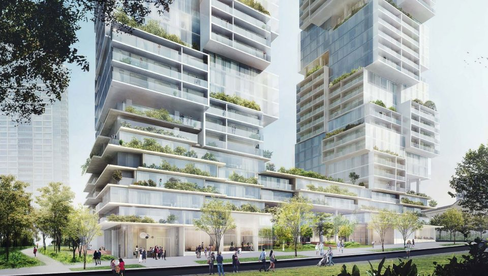 1040-1080 Barclay Street rendering 2018