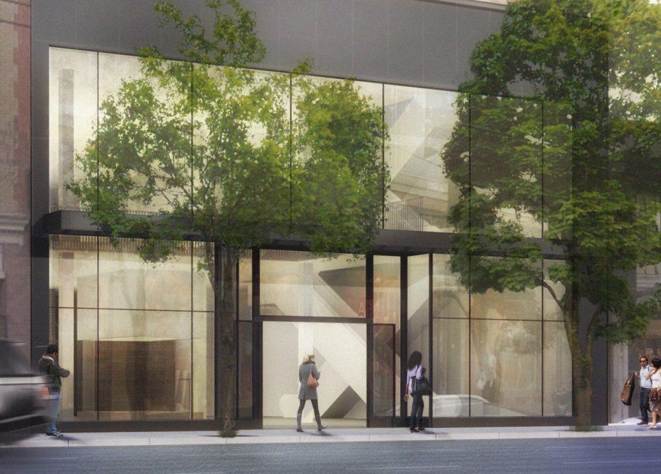 New retail proposed for Robson Street next to Sephora