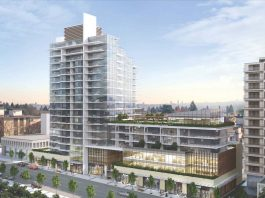 123-145 East 13th Street North Vancouver rendering