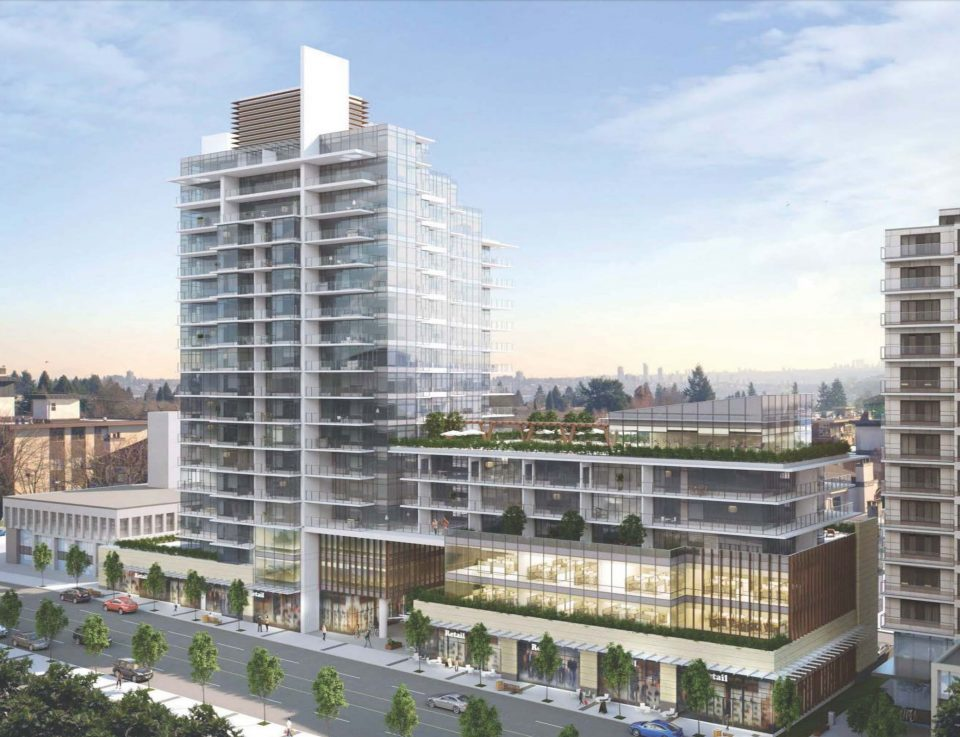 18-storey development planned for site of Northmount medical office building