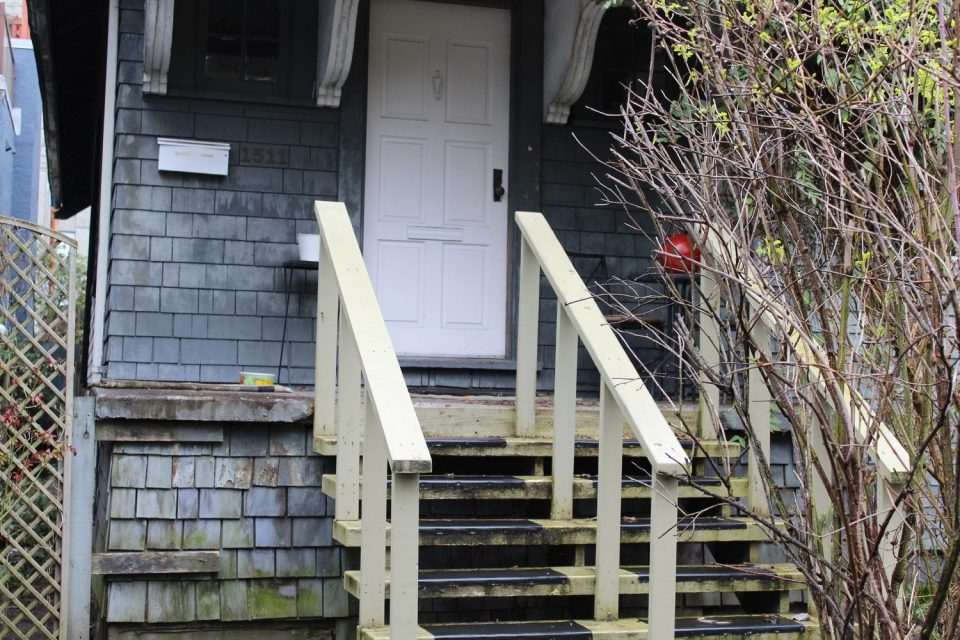 1511 Barclay Street steps