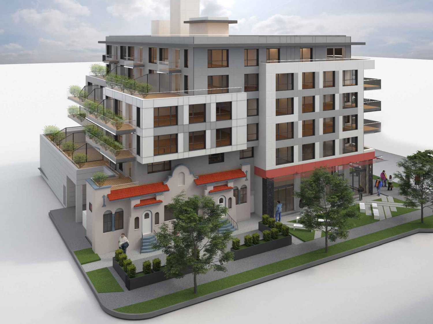 Façade will be retained in East Hastings and Penticton rental redevelopment