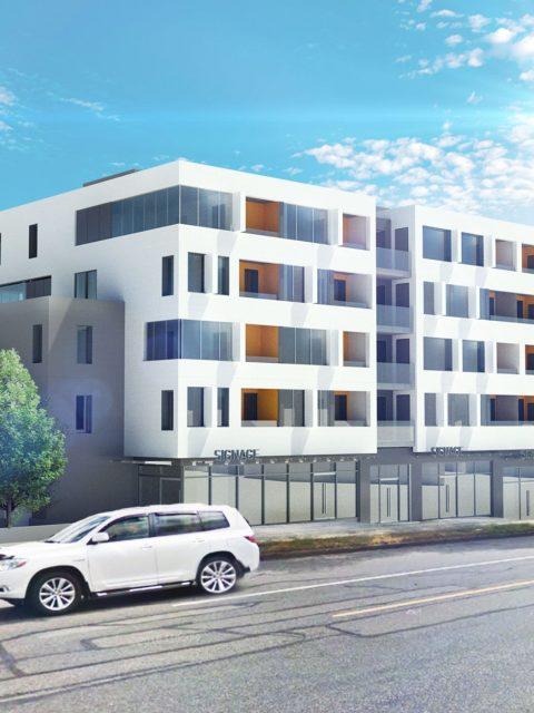 Five-storey rental apartment building proposed for Renfrew Street
