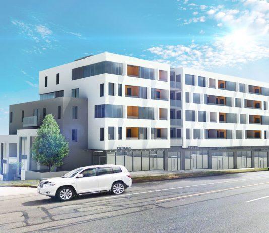 708-796 Renfrew Street rendering